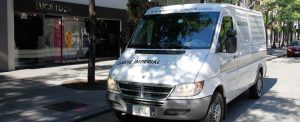 Davis Imperial Cleaners Delivery Van