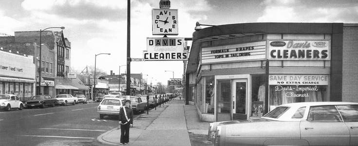 Davis Imperial Cleaners Vintage Photo