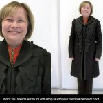 Military Coat Restoration Five